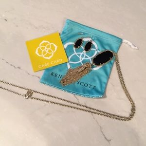 Kendra Scott Set, Rayne necklace & Dani Earrings